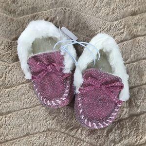 Toddler girl slippers